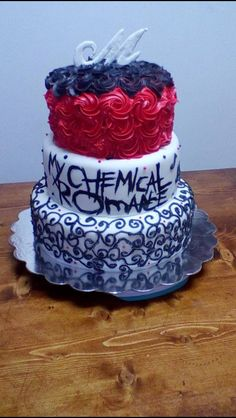 My Chemical Romance cake