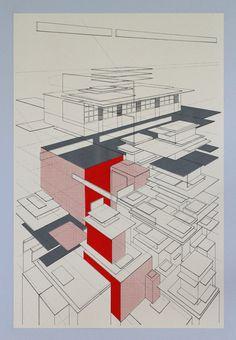 Perspective architecture 10 architectural graphic por benkafton