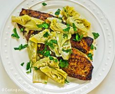 Cooking Weekends: Blackened Tilapia with Artichoke Hearts
