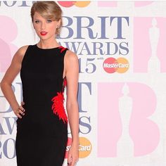 Taylor Swift at the Brit Awards 2015! Brit Awards 2015, Taylor Swift Hot, Taylormade, Formal Dresses, Black, Fashion, Dresses For Formal, Moda, Formal Gowns