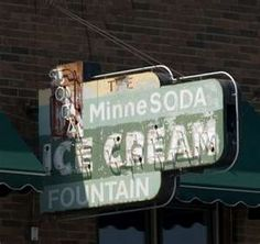 MinneSoda Fountain Park Rapids,MN-loved this place! Fountain Park, Soda Fountain, Love Neon Sign, Park Rapids, Brooklyn Park, White Bear Lake, Vintage Neon Signs, Vintage Cabin, Love Is Gone