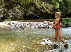 When fishing dry flies for trout, a drag free drift will get the most bites. Best Fly Fishing Rods, Fly Fishing Girls, Trout Fishing Tips, Walleye Fishing, Gone Fishing, Carp Fishing, Fishing Lures, Fishing Tackle, Fishing Tricks