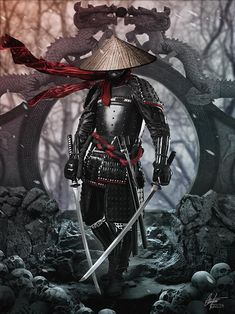 A ronin was a samurai with no lord or master during the feudal period of Japan. A samurai became master-. Ronin Black black and white sketch samurai ninja Ninja Kunst, Arte Ninja, Ninja Art, Japanese Artwork, Japanese Tattoo Art, Japanese Tattoo Designs, Samurai Warrior Tattoo, Warrior Tattoos, Final Fantasy Art