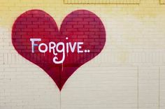 This mural was painted by Jessica Key.  I don't know where it is located, but I love its simplicity of both design and message. I also love how the word weeps tears, it's telling me that forgiveness can be sad, painful, heart-breaking, depressing, and often not reciprocated or appreciated.  But we aren't asked to forgive people for their sake.  We do it for OUR sake.  So WE can heal.  Remembering that makes the pain feel more like a rite of passage or a badge of honor. It makes the sacrifice…