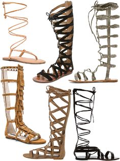 The best gladiator sandals for spring in every price range