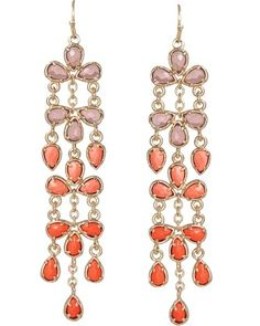 "Melina Earrings in Flash - Kendra Scott Jewelry. Take 25% off with code ""SALETIME"" starting at NOON CST!"