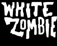 New Custom Screen Printed T-shirt White Zombie Music Small - 4XL