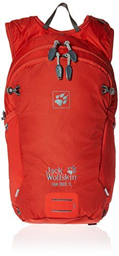 Jack Wolfskin Ham Rock Rucksack Fiery Red 12 L ** Find out more about the great product at the image link-affiliate link #OutdoorAccessories