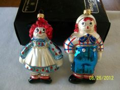 Polonaise Raggedy Ann And Andy Ornaments