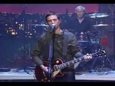 dashboard confessional - hands down (late show)  Love him