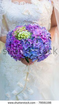 bouquet tonos hortencias