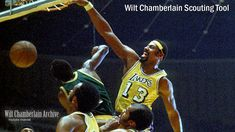 Chamberlain wilt chamberlain one of my favorite basketball pictures of