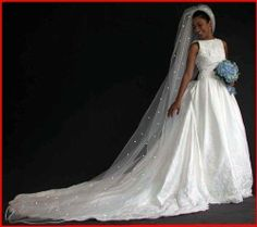 White 1 Tier Cathedral Swarovski Crystal Rhinestones Bridal Wedding Veil Satin Edge Shop Ginger Wedding,http://www.amazon.com/dp/B0056B0CWY/ref=cm_sw_r_pi_dp_YrOctb0C1BDD0S18