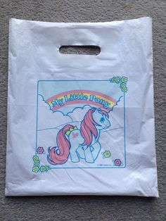 My Little Pony Club Bag Vintage 1987 | eBay