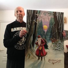 Me and my painting!