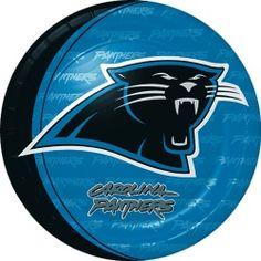 Carolina Panthers Dinner Plates (8)