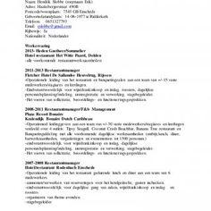 Modelo De Curriculum Vitae Europeo Informacin Personal ApellidoS