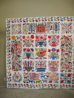 Glorious Applique: Roseville is finished!!!! yippee......