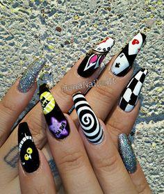 Alice In Wonderland theme for Mon! @mo_lovestreez #MonaNailedIt #aznails #arizonanails #nailsinaz #nails2inspire #notd #WhoDoesYourNails #nailart #480 #602 #phoenixaznails #phxnails #cleancuticles #upcloseandpersonal #nailsinarizona #nailtechlife#ilovemyjob#stashhouseaz #602nails #480nails #phoenixnails #youngnails #UñasChingonas #NailLife #NOTD #nailart #nailsofinstagram #QualityNails #stashhouseaz
