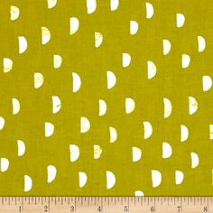 Designed by Alexia Marcelle Abegg for Cotton + Steel, this cotton print is perfect for quilting, apparel and home decor accents. Colors include chartreuse and white. Home Accents, Accent Decor, Grass, Print Patterns, Moon, Chart, Quilts, Steel, Wallpaper