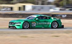 """Marc Cars Ford Mustang named """"Daddy Cool"""" after an Australian Rock band. Road Race Car, Road Racing, Race Cars, American Auto, Number 9, Sports Car Racing, Ford Mustangs, Sports Sedan, Racing Motorcycles"""