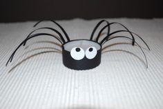 Spinne mit Teelicht…