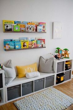 An Ikea kids' space remains to amaze the kids, because they are offered a great deal more than children's room Ikea Kids, Kids Bedroom, Bedroom Decor, Bedroom Ideas, Diy Zimmer, Ikea Storage, Storage Ideas, Toy Storage, Organization Ideas