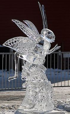 Cricket Ice Sculpture