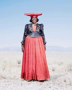 Herero Women of Namibia Inspired by Victorian Style | Photographed by Jim Naughten