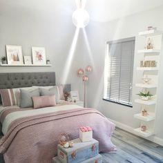 Modern Bedroom Design Trends and Ideas in 2019 Part bedroom ideas; bedroom ideas for small room; Teen Bedroom Designs, Bedroom Decor For Teen Girls, Cute Bedroom Ideas, Room Ideas Bedroom, Modern Bedroom Design, Home Decor Bedroom, Cozy Teen Bedroom, Master Bedroom, Bedroom Inspo