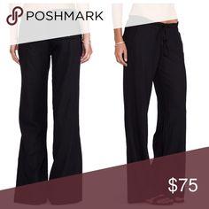 Bobi/Revolve Linen Pant NWOT Classic linen pant. Zip and clasp closure. New. Purchased from revolve website. Bobi Pants