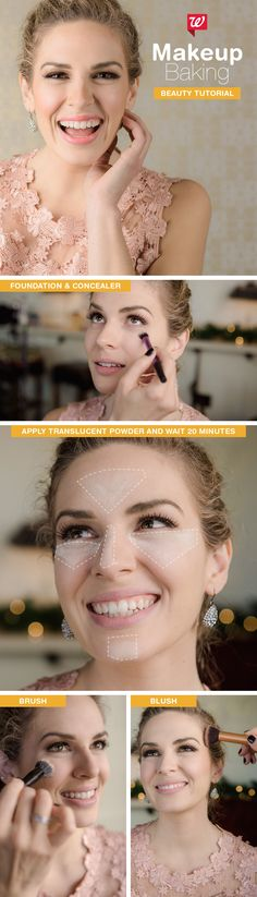 Have your highlight and keep it, too, when you bake your makeup like a queen. Get the full makeup tutorial on our Be Beautiful blog.