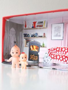 Here are some cute ideas for your kids to turn a shoebox into something special.