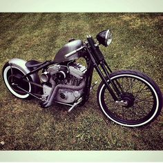 Harley-Davidson | Bobber Inspiration - Bobbers and Custom Motorcycles October 2014.
