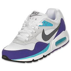 The Women\u0026#39;s Nike Air Max Correlate Running Shoes - 511417 153 - Shop Finish Line today! White/Dark Grey/Club Purple \u0026amp; more colors. Reviews, in-store pickup ...