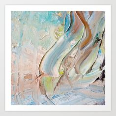 Pastel Shades of abstract form.