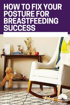 Up to 50% of breastfeeding problems are caused by incorrect positioning, which in turn leads to incorrect attachment and nipple damage. We also know stress from back pain inhibits supply. What if you could prevent a lot of this pain and discomfort? Click to read my blog if you're interested in learning my tips on better posture for success