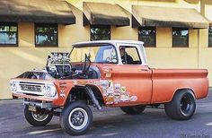 our random crap — Cool Gasser 61 Chevy 👌🏼 ➡️. Hot Rod Pickup, Old Pickup Trucks, Hot Rod Trucks, Gm Trucks, Cool Trucks, Custom Chevy Trucks, C10 Chevy Truck, Custom Cars, Toyota Pickup 4x4