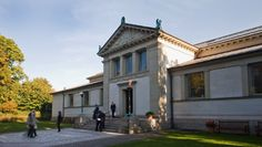 """Hirschsprung Samling, Copenhagen. A gem of a museum with a wonderful Collection of Danish paintings from the """" Golden age """"."""