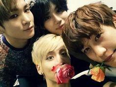 [140608] @realjonghyun90's twitter update : 짠 꽃돌이들
