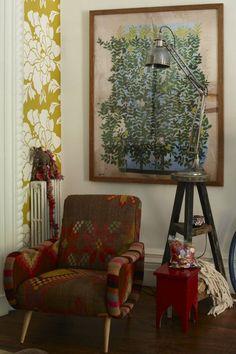 Moon to Moon: Bohemian style interiors - Artwork