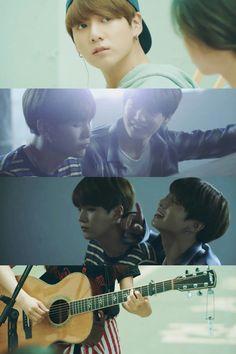 Collage Min Yoongi and Jeon Jungkook BTS LOVE YOURSELF Bangtanboys YoonKook 방탄소년단 Highlight Reel 起 承 轉 結 bangtansonyeondan