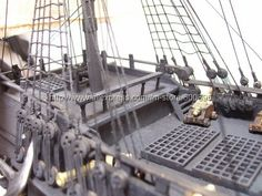 pirate ship model kits-Black Pearl(Pirate of Caribbean) KML01