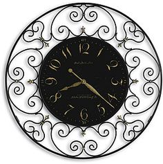 Shop a great selection of Howard Miller Joline Gallery Wall Clock. Find new offer and Similar products for Howard Miller Joline Gallery Wall Clock. Howard Miller Wall Clock, Oversized Clocks, Mantel Clocks, Wall Clocks, Big Clocks, Grandfather Clock, Large Clock, Iron Wall, Wrought Iron