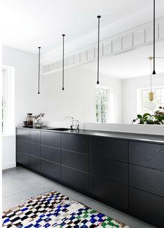 Schwarze Küche: Bilder U0026 Ideen Für Dunkle Küchen