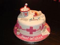 Graduation cake for Pharmacist.