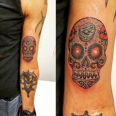 Pin for Later: 25 Meaningful Sugar Skull Tattoos You'll Want to Get Immediately