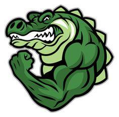 Crocodile Mascot Show His Muscle Arm Stock Vector - Illustration of mascot, head: 70771058 Illustration Crocodile, Illustration Art, Rabbit Vector, Dog Vector, Crocodile Pictures, Zbrush, Crocodile Logo, Bulldog Mascot, Stock Character
