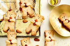Mandel-Bären mit Amarettocreme