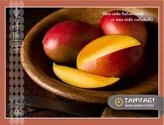 A muchos les encanta el sabor del mango. ¿Pero Uds. sabían que un mango contiene dos veces más Vitamina C que una naranja?